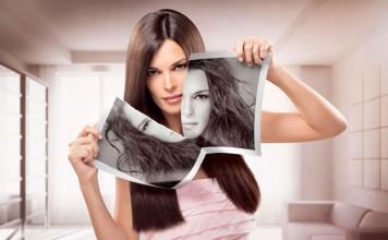 керативное выпрямление волос